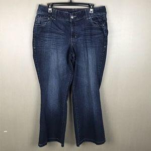 Lane Bryant Jeans Size 14 Average